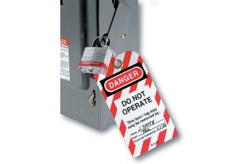 Master Lock Do Not Operate Safety Tags W/g 470-497A, Unit PK