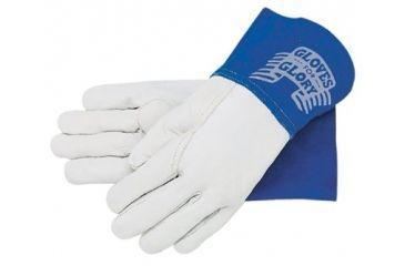 Memphis Glove Grain Leather Gauntlet Cuff Se 127-4950XL, Unit PK