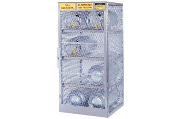 Justrite 8 Cylinder Vertical Storage Lo 400-23010, Unit EA