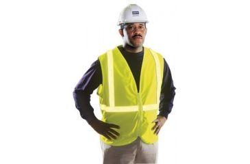 Honeywell Safety Lg Hi-viz Lime Zippered Ves 5011103582, Unit EA