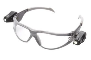 AOSafety Light Safety Glasses Black Tem 5011121025, Unit EA