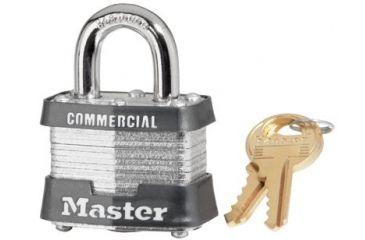 Master Lock 4 Pin Tumbler Safety Padlock K 470-3DCOM, Unit PK