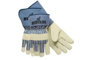 Memphis Glove Kid Goat Leather Palm2.5in Sa 127-1940L, Unit PK