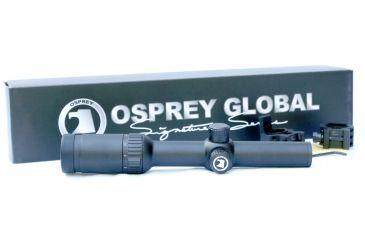 Osprey 1-6x28 Mil Dot Riflescope, Black TA1628MDG