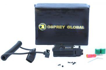 Osprey Green Rail Laser, Black OSP-RGL