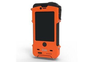 Otis Technology SnowLizard SLXtreme iPhone 4-4S Case, Signal Orange, Small CD-SLSLXAPL04-OR