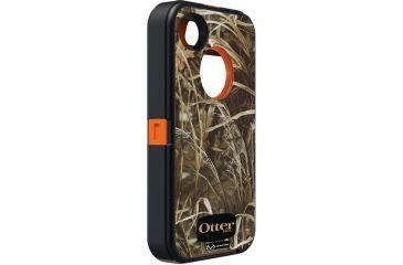 Otter Box Defender 4S iPhone Case, Camo-Orange OB01054