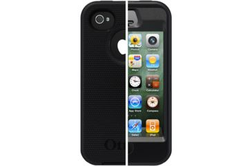 Otter Box iPhone 4S Defender Series, Black, iPhone 44S 7718581