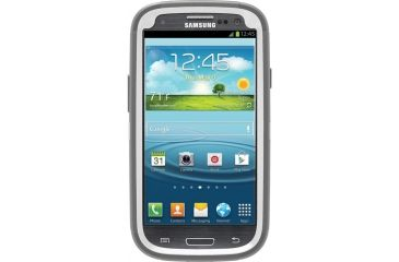 Otter Box Samsung Galaxy SIII Defender, White/Grey, Galaxy S3 77-21514
