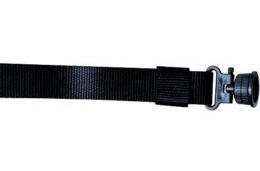 1-Outdoor Connection Black Shotgun Sling System w/Swivels TSS79504