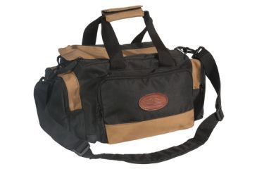 Outdoor Connection Deluxe Range Bag Multiple Pockets Water Resistant Tan and Black BGRNG1-28110