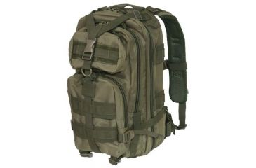 Outdoor Connection Max-Ops Backpack MOLLE, Green MLTBPGN-62117