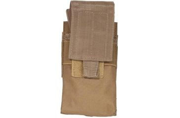 Outdoor Connection Single Mag Pouch, AR, MOLLE, Brown MLSARCB-62106