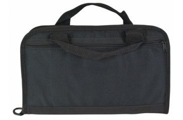 Outdoor Connection Tactical Pistol Case With Inter Pocket Black Heavy Polyester 14 Inch CSPTAC45-28102
