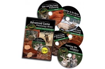 Outdoor Edge Cutlery 5 DVD-Game processing Library, One size AP-101