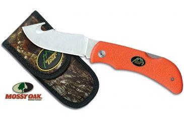 Outdoor Edge Cutlery Grip Hook Blaze Knife, Orange, One size GHB-50