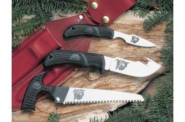 Outdoor Edge Cutlery Kodi-Pak Knife, Black, One size KP-1