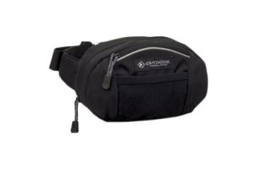 Outdoor Products Essential Waist Pack, Black,Gray 1243WMC003OP