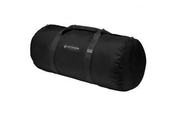 "Outdoor Products Large Deluxe Duffle Bag, 19.91 gal, 14"" x 30"", Fabric, Black 204008OP"