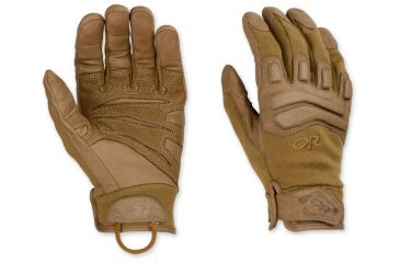 Outdoor Research Firemark Gloves Small Coyote Tan 817019