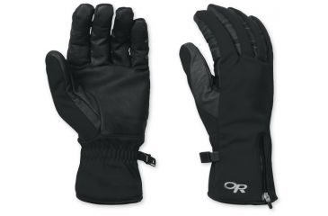 Outdoor Research Stormtracker Gloves Small Black