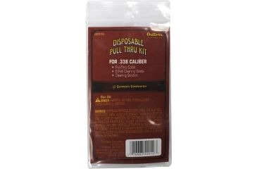 Outers Disposable Pull-Thru Cleaning Kit, .338 Caliber 42010
