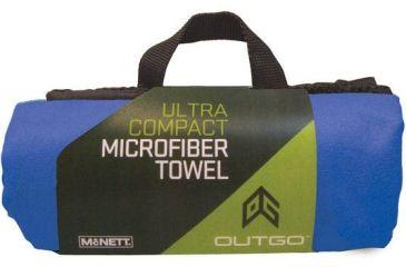 Outgo Microfiber Towel, 30 x 50 in., Cobalt UG68151
