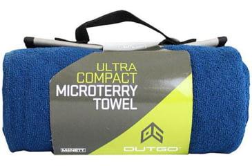 Outgo Microfiber Towel, 30 x 50 in., Deep Blue UG69041