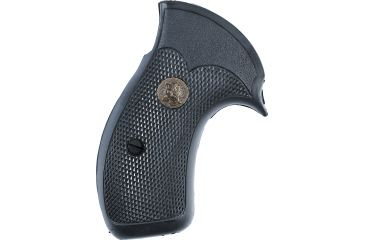 Pachmayr Compac Pro Grip w/ Open Back Strap for S&W, K&L Frame Round Butt SK/CP