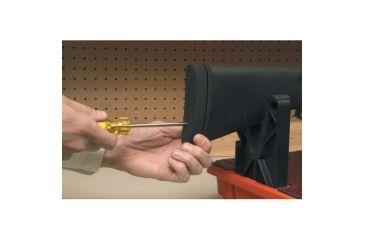 Pachmayr Pre-Fit Decelerator 1in Recoil Pad, Basket Black - Remington 700 BDL Wood,Flat Stock