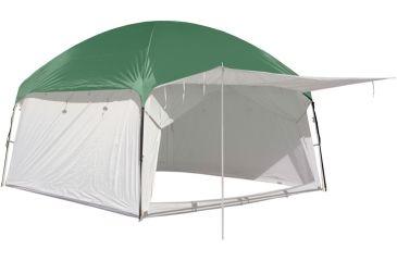 PahaQue Screen Room Waterproof Rainfly, 10x10 Green 101923