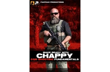 Panteao Productions Make Ready with Chappy, CQB Shooting Fundamentals DVD PMR037