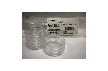 Parter Medical Petri Dishes, Sterile 3561 Gamma Radiation Sterilized Semi-Stackable