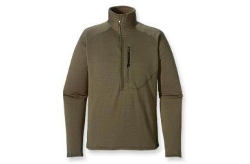Patagonia R1 Flash Pullover Jacket, Soft Green, Large - 19012-984-LG