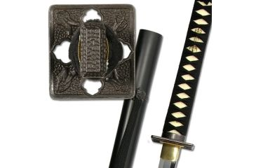 Paul Chen Practical Shinobi, tempered high carbon steel blade PC1071