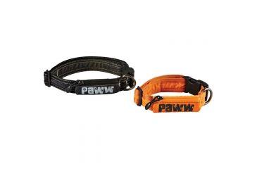 Paww Secret Agent Collar Md Orange P654