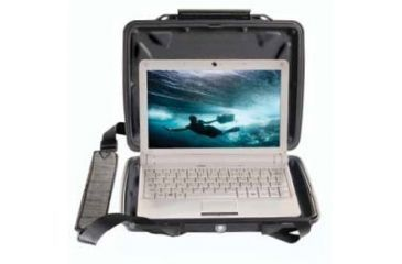 Pelican 1075CC Net Book HardBack Black Case 1070-003-110