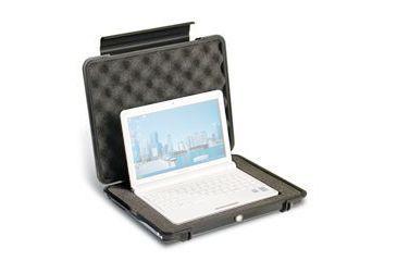 Pelican 1085 Hardback Case w/ Pick n Pluck Foam for 14in Laptops, Black 1080-020-110