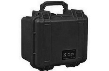 Pelican 1300 Small Watertight Case Black No Foam 1300 001 110