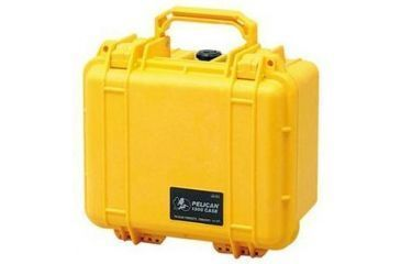 Pelican 1300 Small Watertight Case Yellow No Foam 1300 001 240