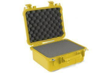 Pelican Small Yellow Case 1400 with Foam