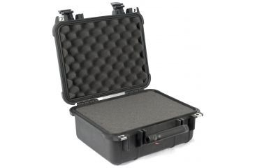 Pelican 1400 Waterproof Case - Black, with Foam
