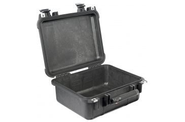 Pelican 1400 Waterproof Case - Black, No Foam