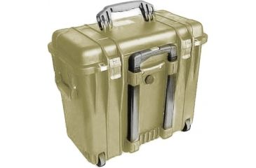 Pelican 1440 Top Loader Medium 20x12x18in Protector Case, Desert Tan w/Office Dividers
