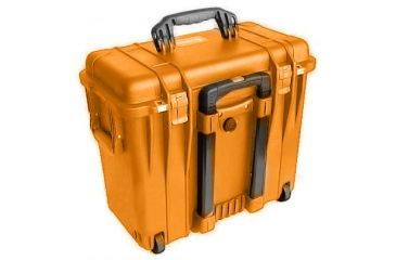 Pelican 1440 Top Loader Medium 20x12x18in Protector Case Orange Wphoto Dividers