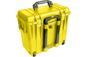 Pelican 1440 Top Loader Medium 20x12x18in Protector Case, Yellow w/Photo Dividers