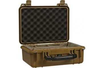 Pelican Medium Desert Tan Case 1454 w/ Padded Dividers