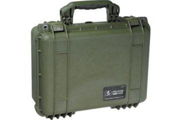Pelican 1450nf Protector Waterproof Crushproof Medium Case Od Green No Foam