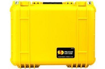 Pelican 1450nf Protector Waterproof Crushproof Medium Case Yellow No Foam