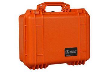 Pelican 1454 Protector Waterproof Crushproof Medium Case Orange W Padded Dividers